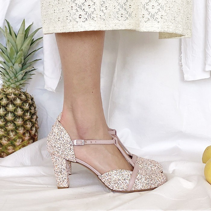 scarpetta-di-venere-scarpe-artigianali-sposa-Azzurra-glitter-2
