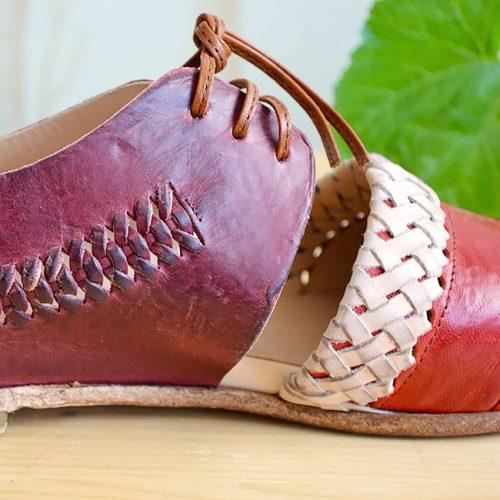 scarpetta-di-venere-scarpe-artigianali-dettaglio-intreccio-fatto-a-mano-catena2