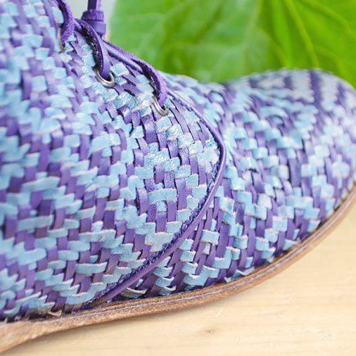 scarpetta-di-venere-scarpe-artigianali-dettaglio-intreccio-fatto-a-mano-rombi